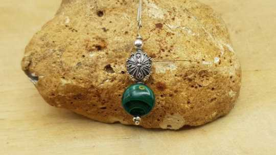 Green Malachite pendant