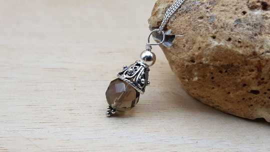 Small Smoky Quartz pendant