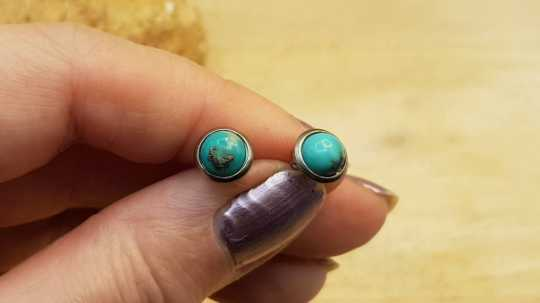 Hypoallergenic Turquoise earrings
